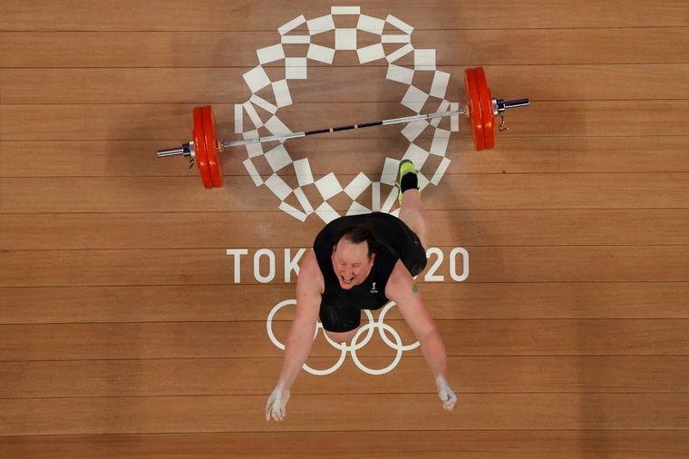 FOTO: Histórico: fue la primera deportista trans en los JJ.OO