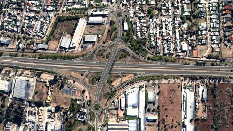 FOTO: Distribuidor Av. Rancagua (plano)