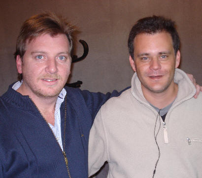 Conductor y productor, Guille Hemmerling y Gonzalo Carrasquera