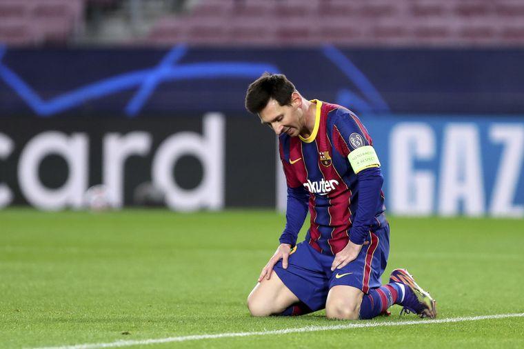 FOTO: Lionel Messi se va del Barcelona.