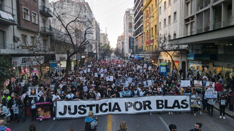 AUDIO: Masiva marcha a un año del crimen de Blas Correas