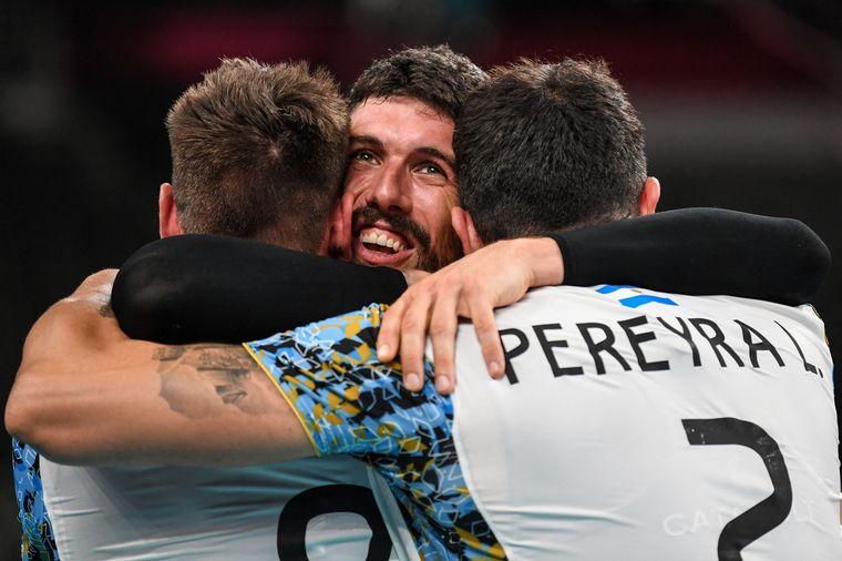 Hazaña histórica: el vóley argentino es medalla de bronce