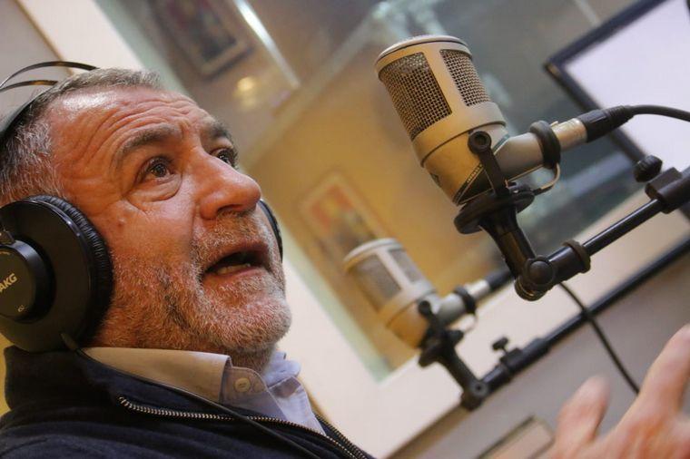 FOTO: Luis Juez, en la entrevista que le hicieron Sergio Suppo y Luis Fernández Echegaray.