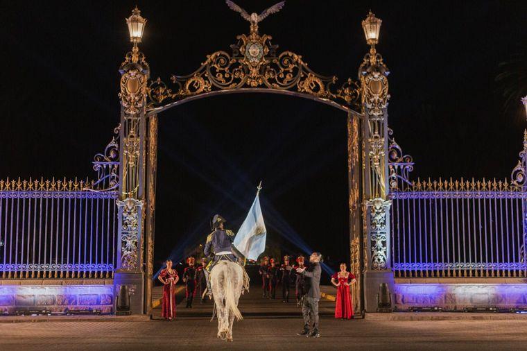 FOTO: Sancor Seguros realizó una producción audiovisual en Mendoza.