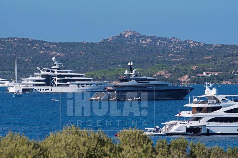 FOTO: Así es el lujoso barco donde Juana Viale y su hija pasan la cuarentena