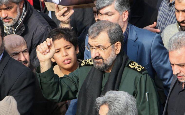 FOTO: Mohsen Rezai tiene un pedido de captura internacional por el ataque a la AMIA.