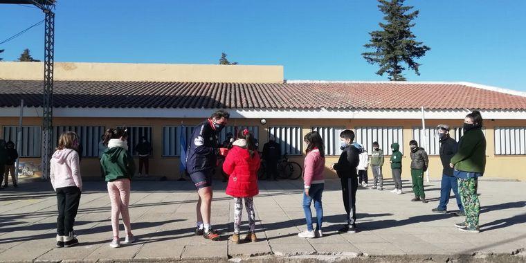 FOTO: Cruce por la Educación en Salsipuedes.