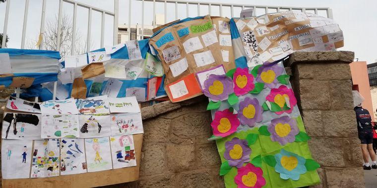 AUDIO: El Cruce por la Educación llegó a la escuela Bernardino Rivadavia de Carlos Paz