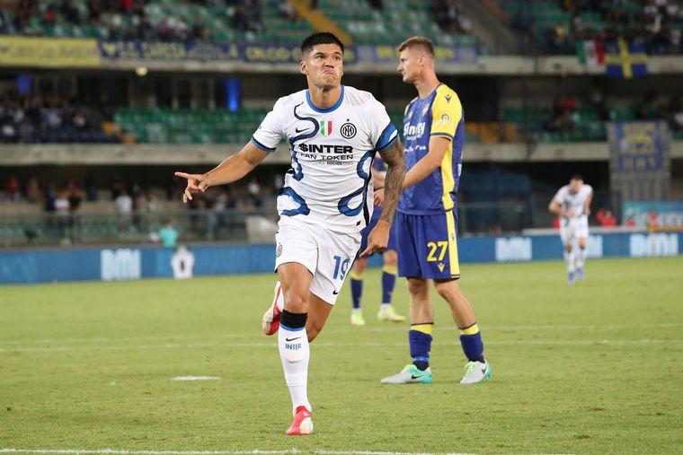 Tucu Correa debutó con un doblete en el Inter de Milán