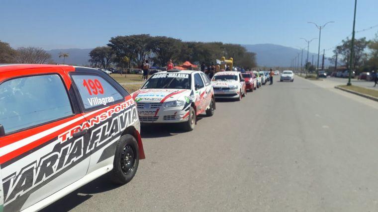 AUDIO: Fuerte accidente en el Rally Tucumán: sin heridos de milagro