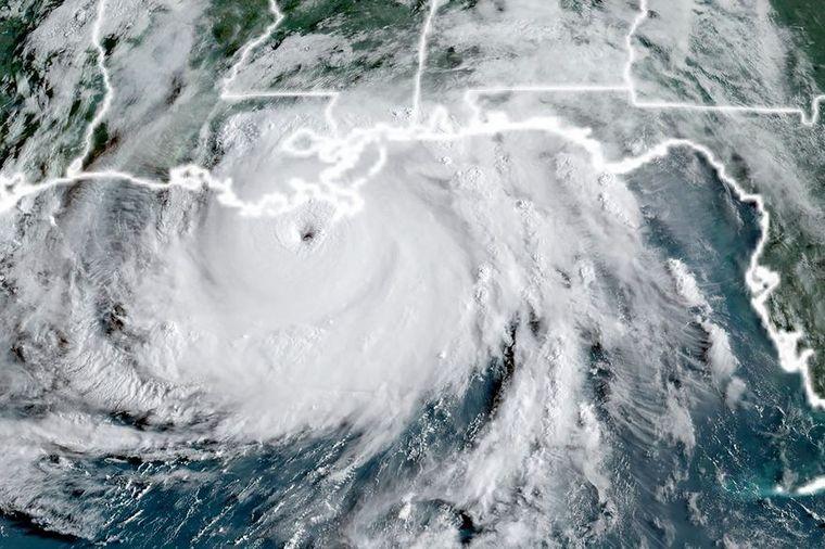 FOTO: El huracán Ida amenaza al estado de Luisiana