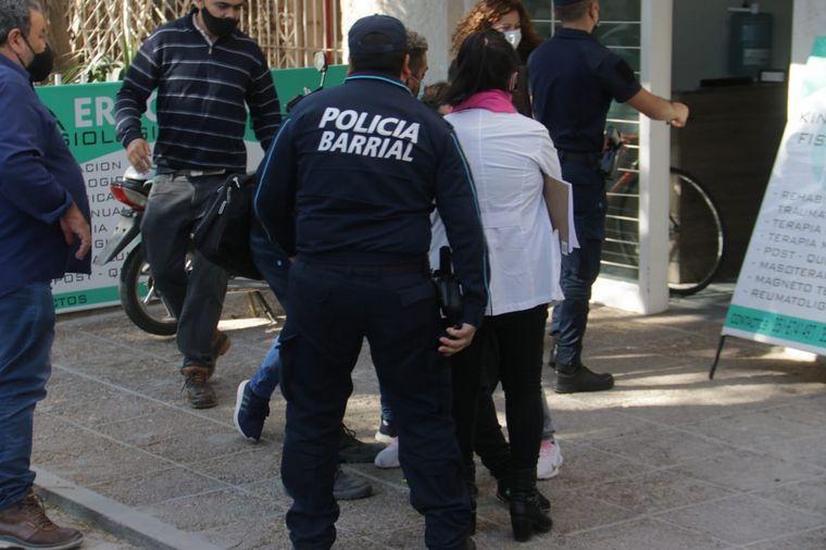 FOTO: Murió un pintor al caer de un cuarto piso en Córdoba