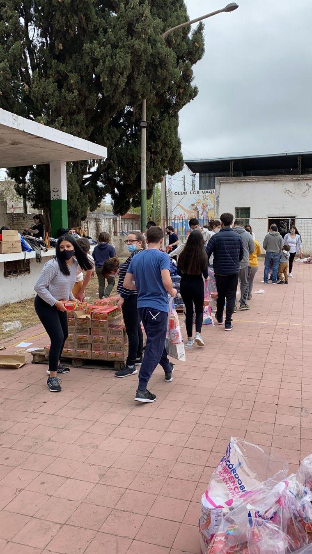 FOTO: Colecta solidaria: Córdoba Urgencia Alimentaria ayudará a 30 mil familias