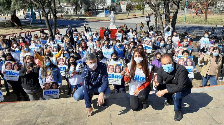 FOTO: Hacemos por Córdoba movilizó a sus dirigentes en toda la provincia.
