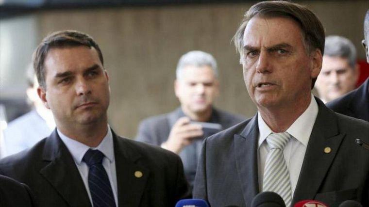 FOTO: El hijo del mandatario brasileño se pronunció sobre la suspensión del partido.