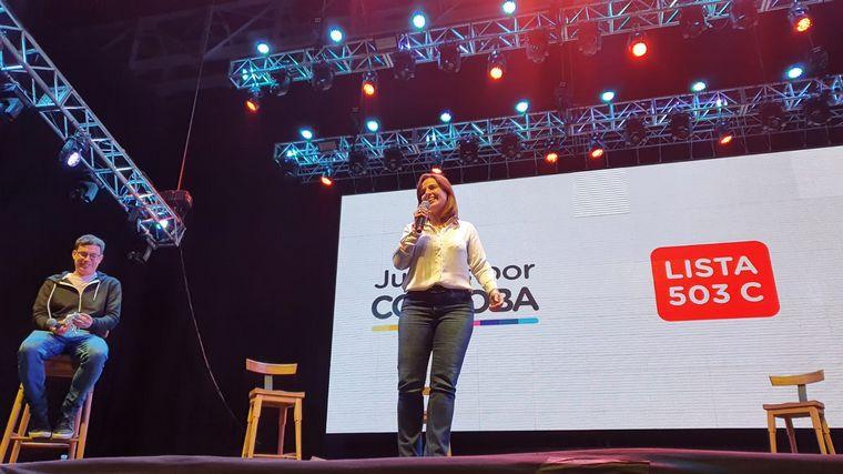 FOTO: Juntos por Córdoba cierra su campaña en Plaza de la Música