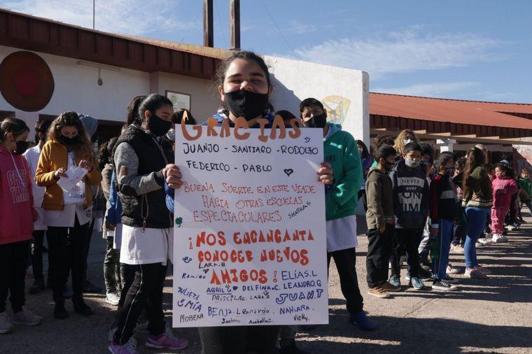 FOTO: El Cruce por la Educación sigue hoy por escuelas mendocinas
