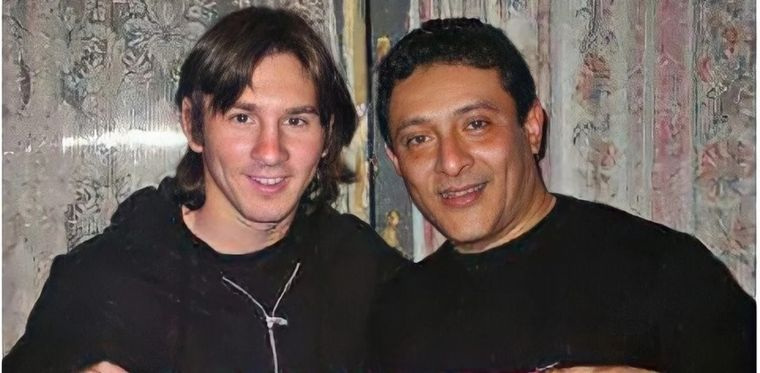 FOTO: Lionel Messi y Sergio Torres
