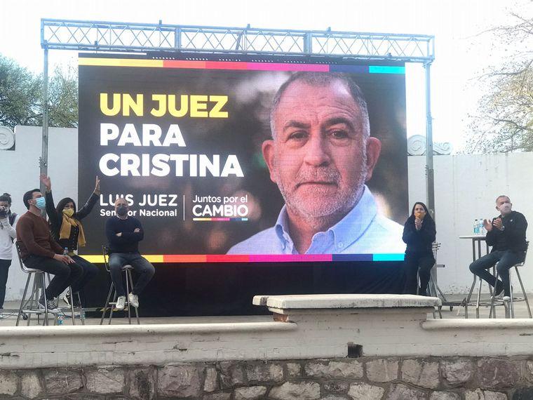 AUDIO: Luis Juez y Rodrigo de Loredo cierran su campaña en Córdoba.
