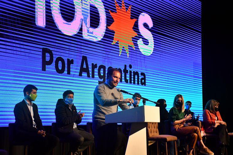 FOTO: El Frente de Todos cerró su campaña en Córdoba.