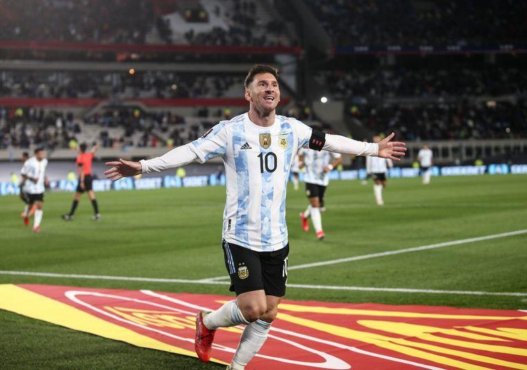 AUDIO: 1° Gol de Argentina (Messi)