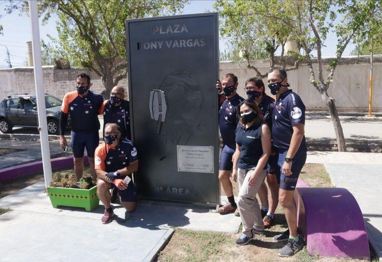 FOTO: El Cruce por la Educación pasó por la tierra de Rony Vargas