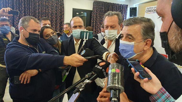 AUDIO: Mario Negri reconoció la derrota en la interna de JxC