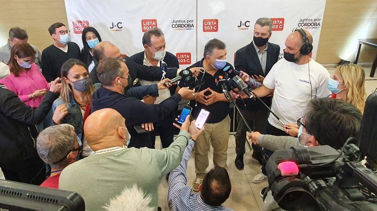 FOTO: Mario Negri reconoció la derrota en la interna de JxC.