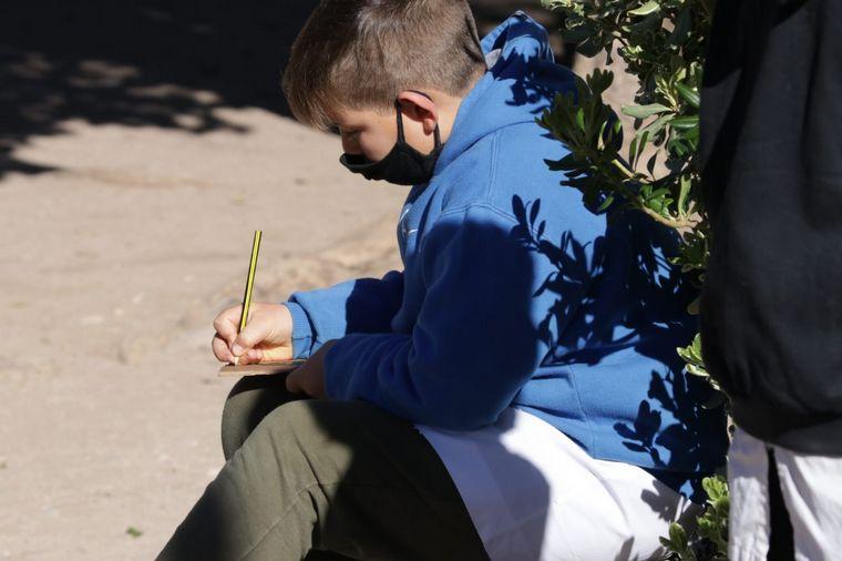 FOTO: Gonzalo, el niño de 11 años que quiere ser artista