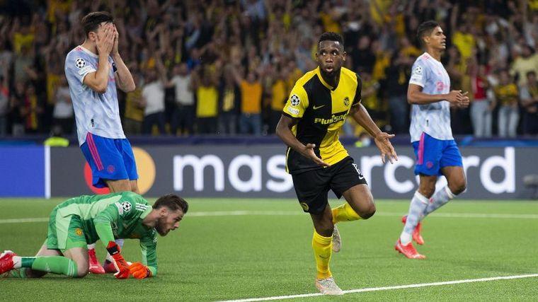 FOTO: El Manchester United cayó sorpresivamente en Suiza.