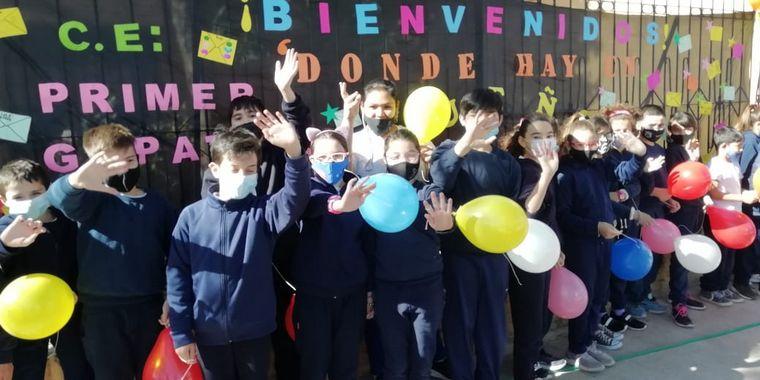 FOTO: El Cruce por la Educación en la escuela Primer Gobierno Patrio de Río Segundo