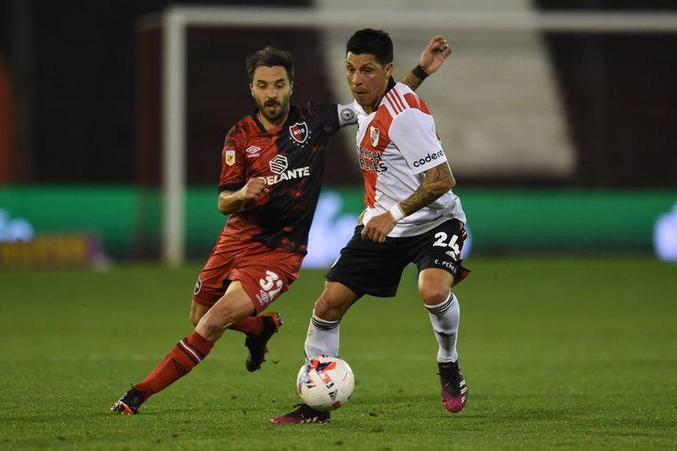 AUDIO: 4° gol de River a Newells (Álvarez)