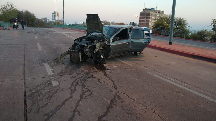 AUDIO: Espectacular choque por poco no fue tragedia en Córdoba