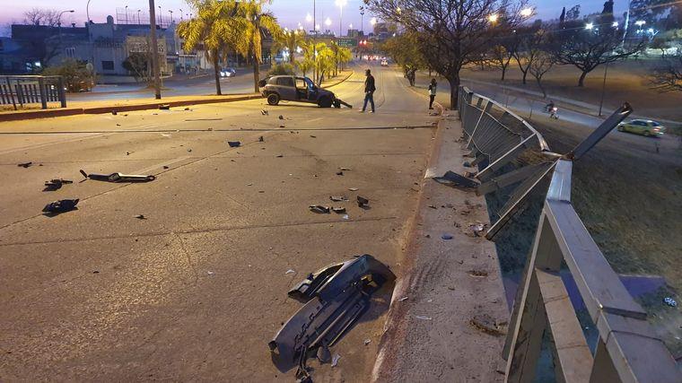 FOTO: Impactante accidente no dejó muertos de milagro en Córdoba.