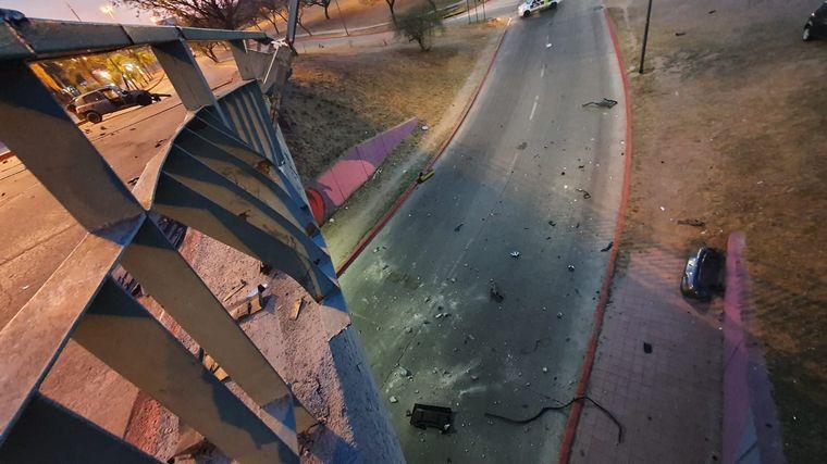 FOTO: Espectacular choque en Córdoba