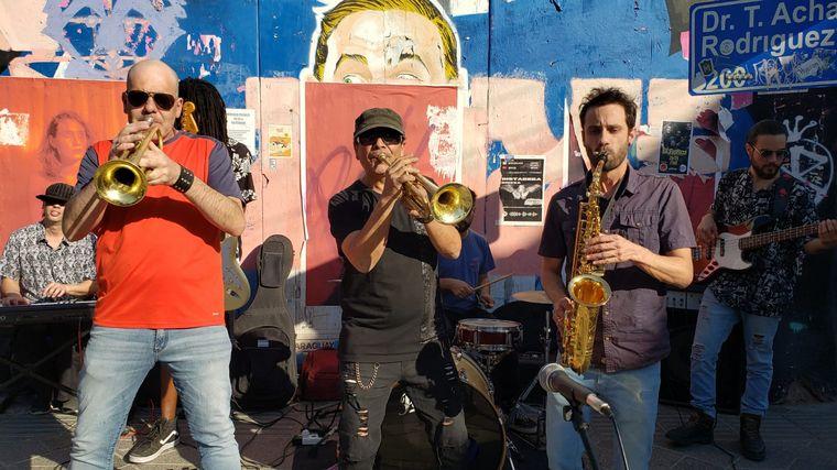 AUDIO: La banda Séptimo Sello tocó en vivo para Cadena 3 desde Güemes