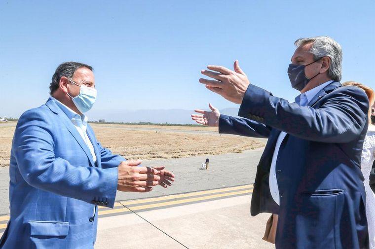 FOTO: Alberto Fernández encabezó este sábado una reunión con gobernadores peronistas.