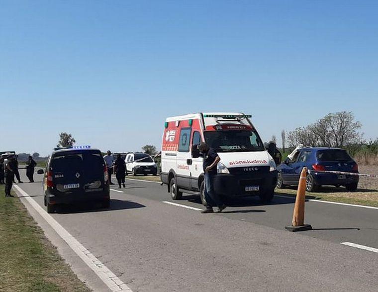 FOTO: Policía de Seguridad Vial mató a su ex pareja de 28 años en ruta provincial 90.