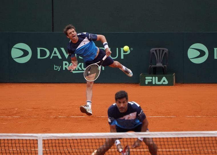 FOTO: Zeballos y González pusieron en ventaja a Argentina en la serie
