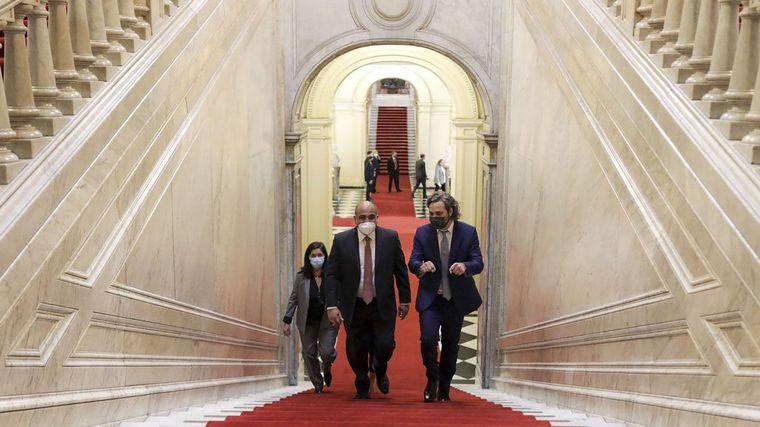 FOTO: Juan Manzur fue elegido como nuevo jefe de Gabinete