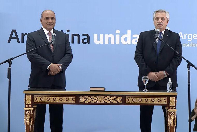 FOTO: El tucumano Juan Manzur, el nuevo jefe de Gabinete de Alberto Fernández.
