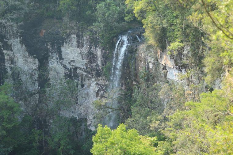 FOTO: Salto Encantado, un atractivo ideal para los amantes del turismo aventura en Misiones