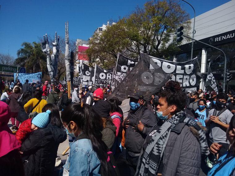 AUDIO: Caos en Capital Federal por marcha de piqueteros