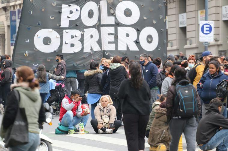FOTO: Caos en el centro de Córdoba por manifestaciones.