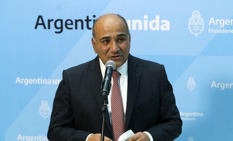 FOTO: La primera reunión de Gabinete que coordina Juan Manzur.