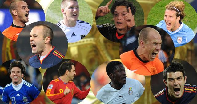 Candidatos al Balón de Oro 2010