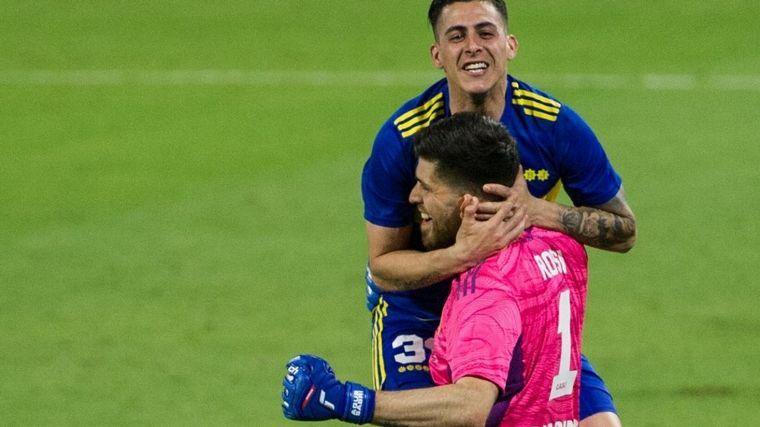 FOTO: Rossi, la figura del triunfo por penales de Boca ante Patronato.