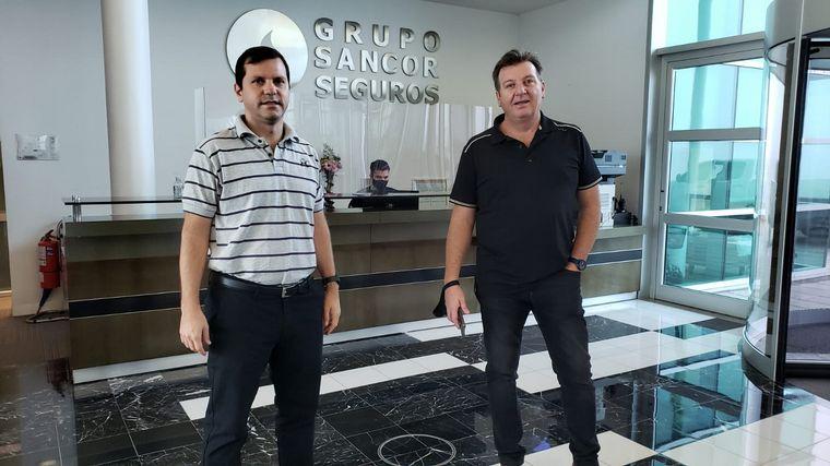 FOTO: Siempre Juntos transmite desde el edificio corporativo de Sancor Seguros.