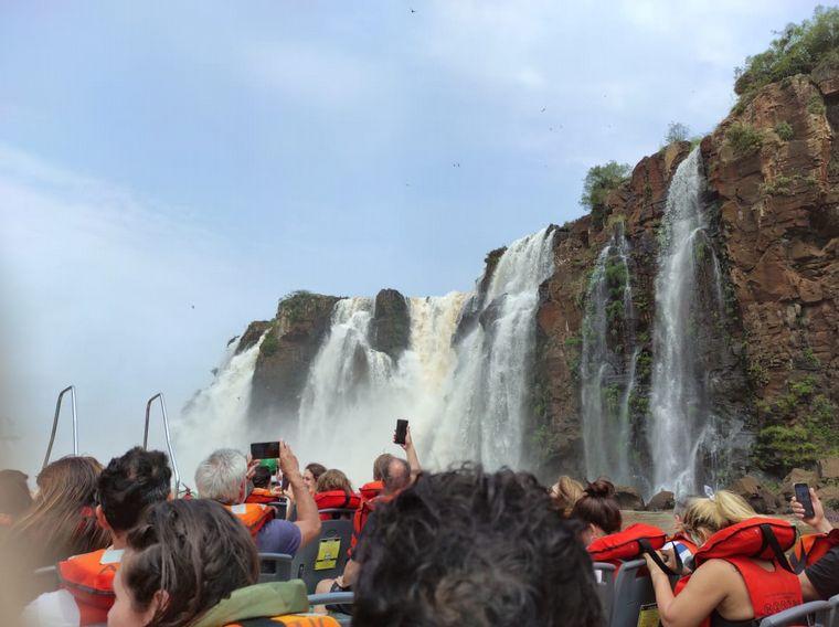 FOTO: Cataratas del Iguazú.