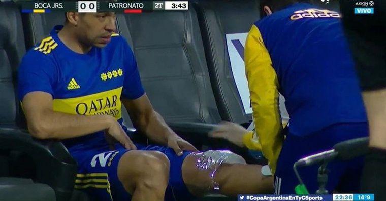 FOTO: Juan Ramírez, volante de Boca Juniors.